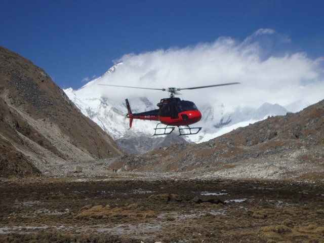 Kailash Helicopter Tour